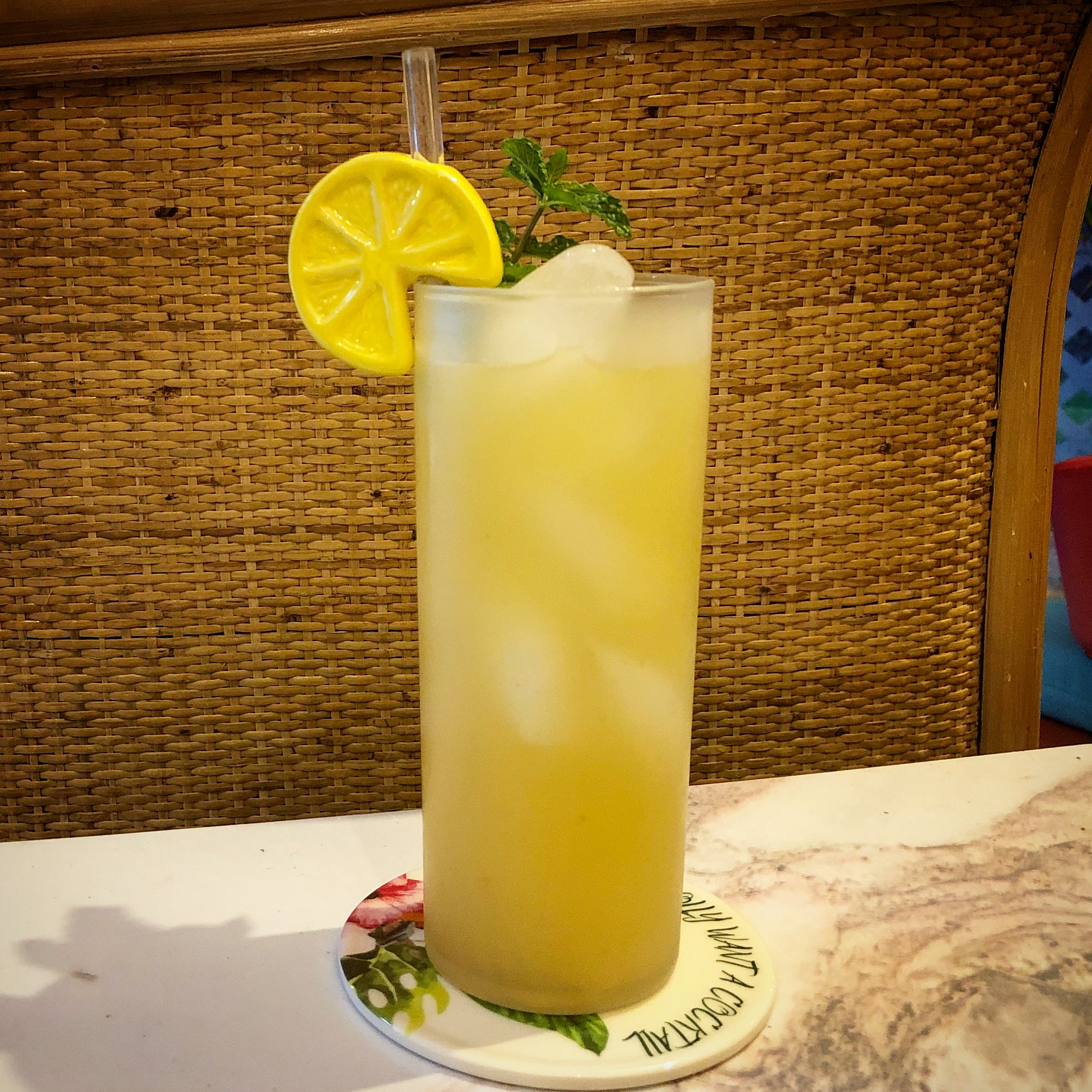 Paradise Cooler Mocktail